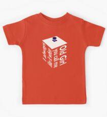 TARDIS Old Girl Inverse Kids Clothes