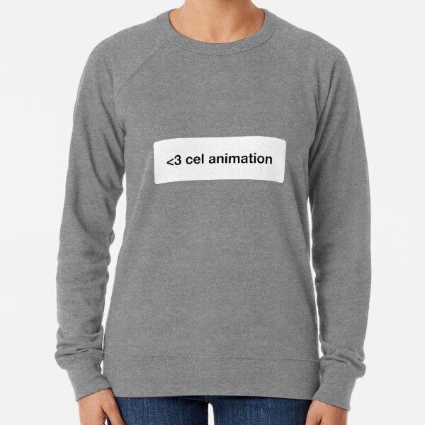 Erreurs Scooby Doo | Love Cell Animation | Noir et blanc Sweatshirt léger