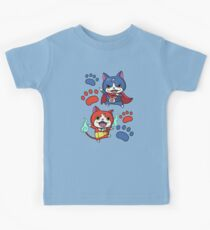 Jibanyan and Fuyunyan Kids Tee
