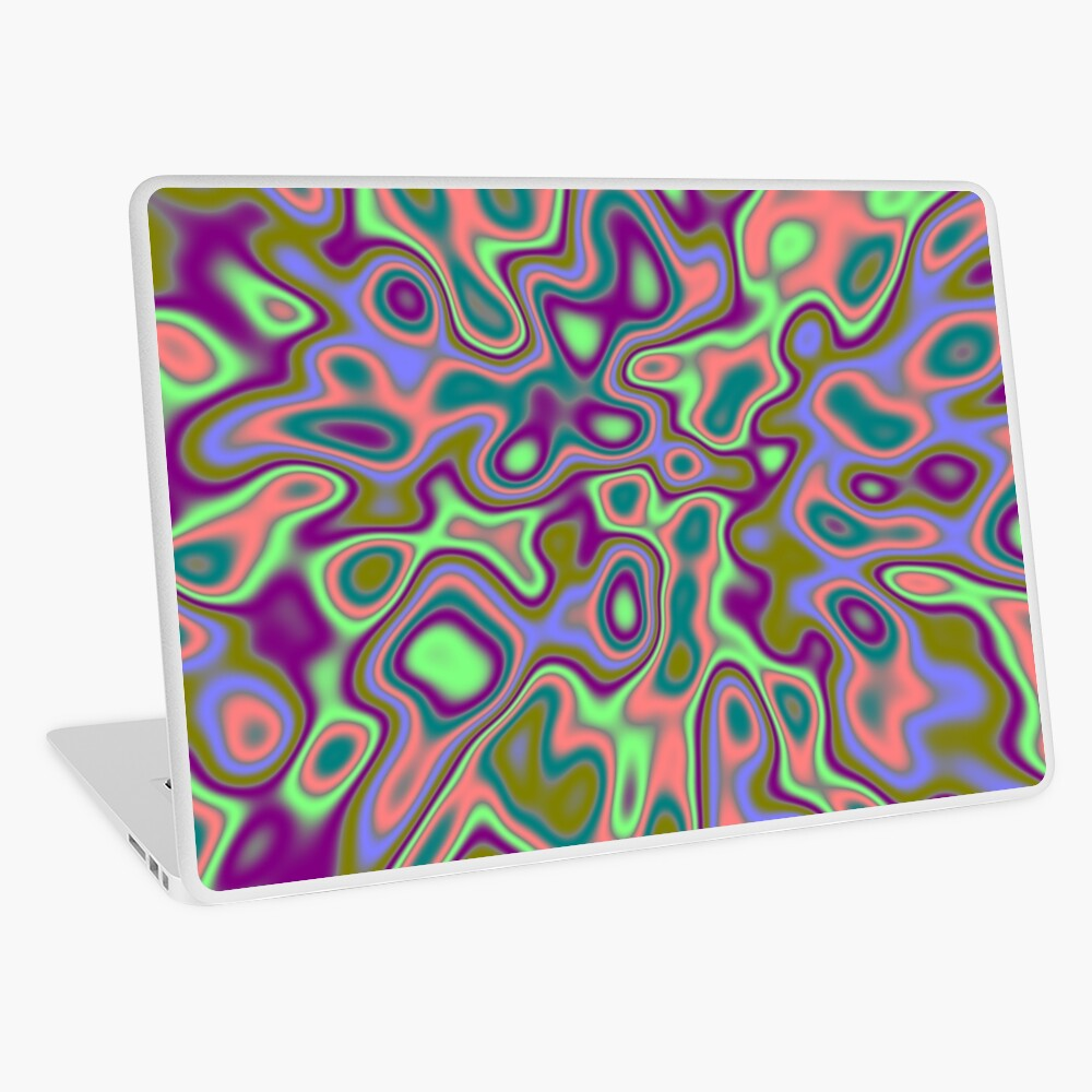 Hidden mask Laptop Skin
