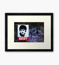 George Best Wall Art Framed Print