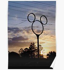 Orlando Sunset Poster