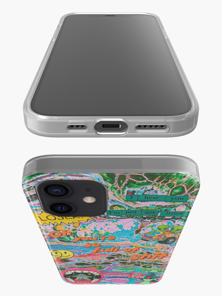Alternate view of trippy iPhone Case & Cover