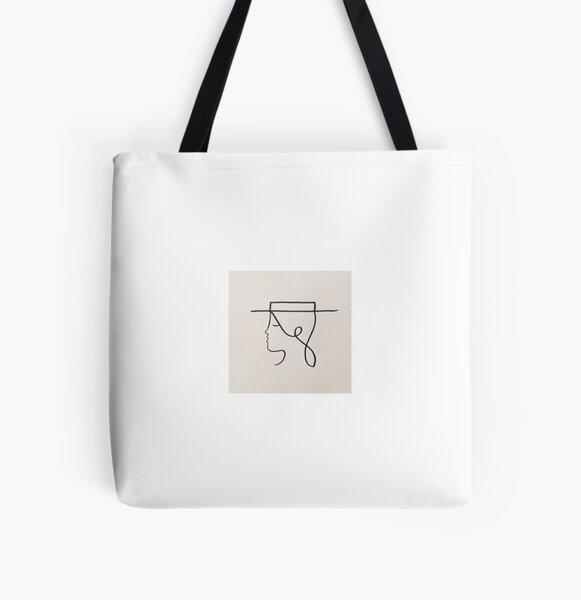 woman All Over Print Tote Bag
