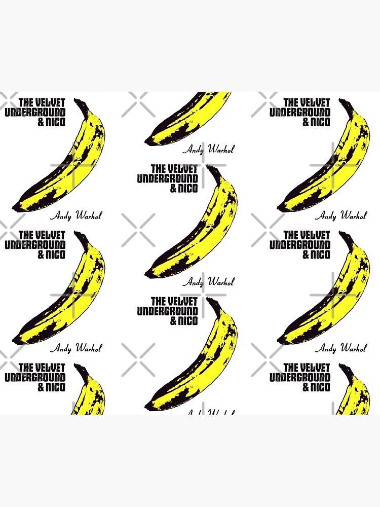 Andy Warhol S Velvet Underground Famous Banana Design Duvet Cover By Animateastory Redbubble