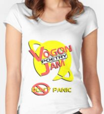 Vogon Poetry Jam Women's Fitted Scoop T-Shirt