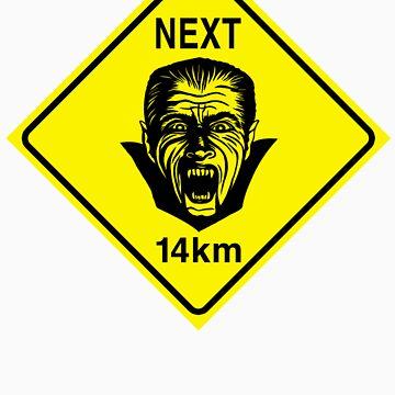 Vampires Next 14km by trippitako