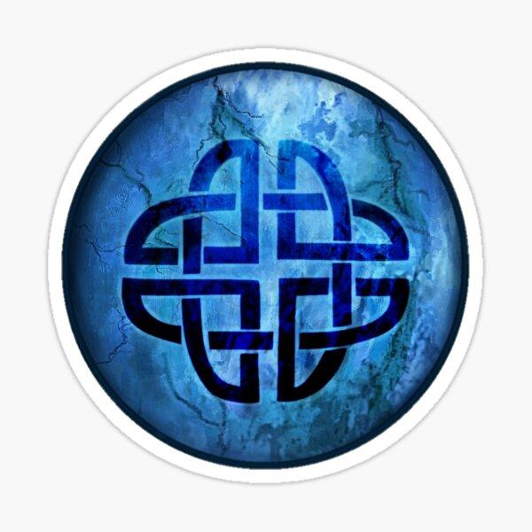 Ancient Celtic Dara Knot Symbol  Sticker