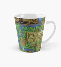 The Legend of Zelda: A Link to the Past Map Tall Mug