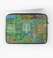 The Legend of Zelda: A Link to the Past Map Laptop Sleeve