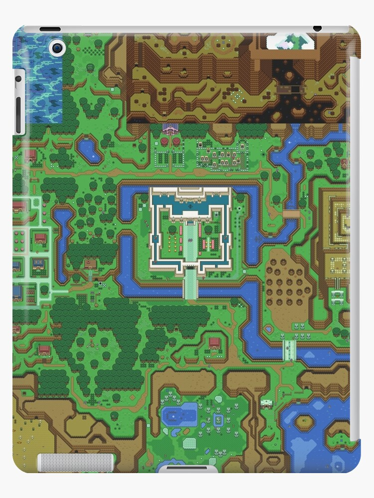 Link To The Past Light World Map.The Legend Of Zelda A Link To The Past Map Ipad Cases Skins By