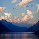 Lago di Lugano, Italy by Giles Clare