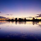 Eastlakes Sunset by Mark  Lucey