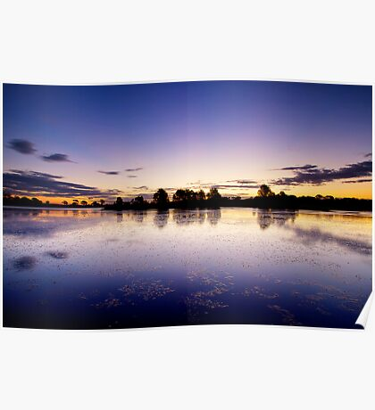 Eastlakes Sunset Poster