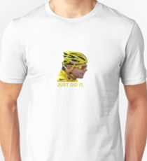 Just did It! Cadel wins........ Unisex T-Shirt