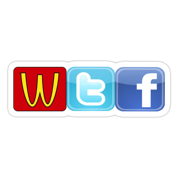 WTF Mcdonalds, Twitter And Facebook by aadam247