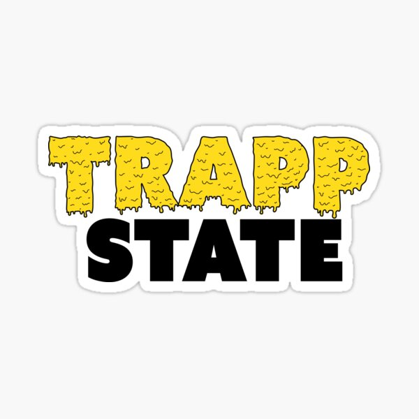 trapp state slime Sticker