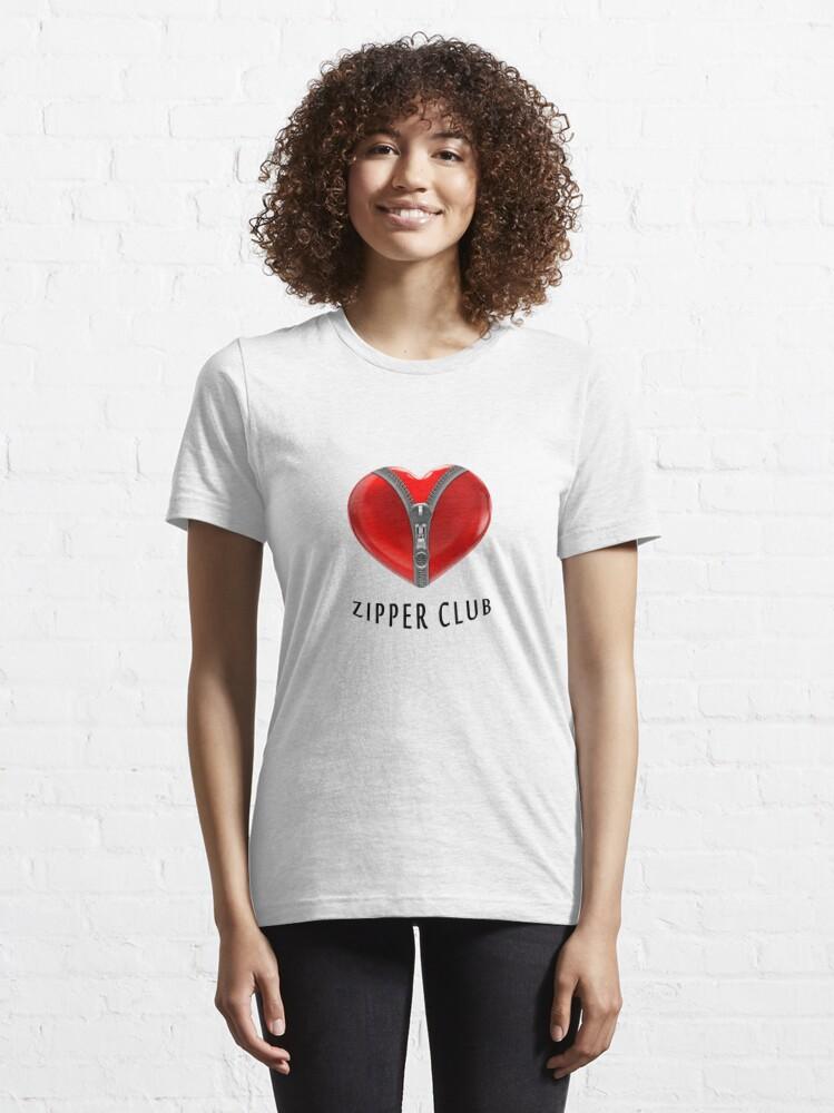 Alternate view of Zipper club Essential T-Shirt