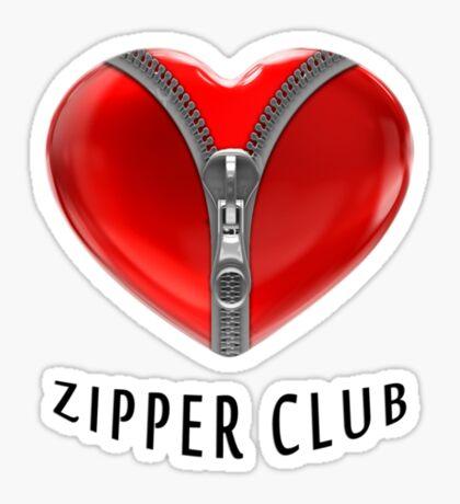 Zipper club Sticker