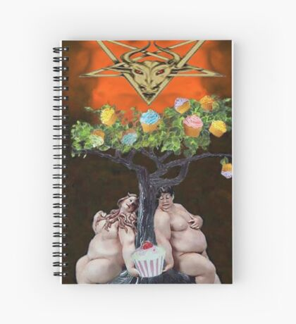 THE DEVIL Spiral Notebook