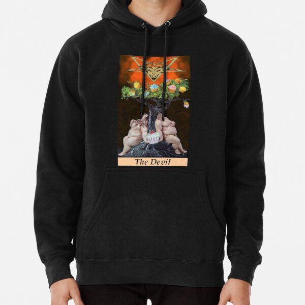 THE DEVIL Pullover Hoodie
