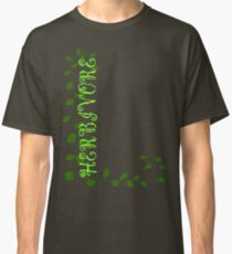 Herbivore in Green Classic T-Shirt