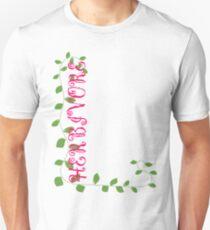 Herbivore in Pink Unisex T-Shirt