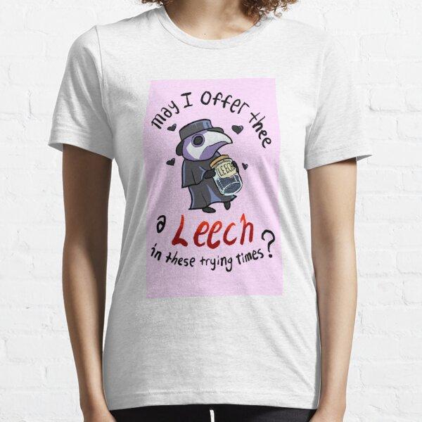 Cute Plague Doc with Leech Jar Essential T-Shirt