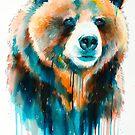 Grizzly bear by Slaveika Aladjova