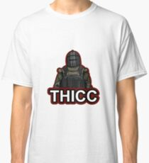 """""""THICC"""" Graphic Logo Classic T-Shirt"""