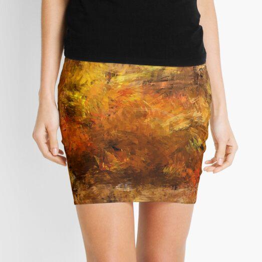 Autumn Leaves 09 Mini Skirt