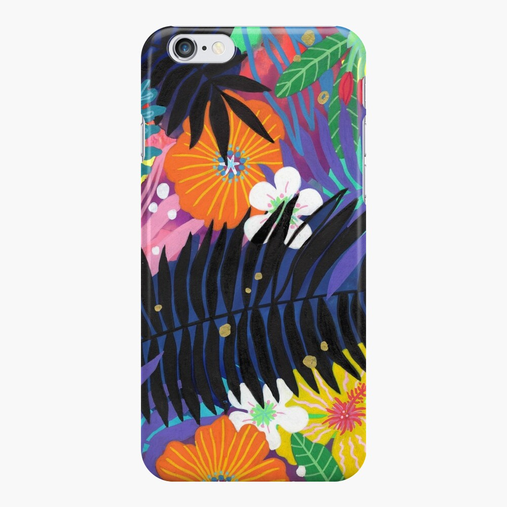 Purple Paradise in Shadows iPhone Case & Cover