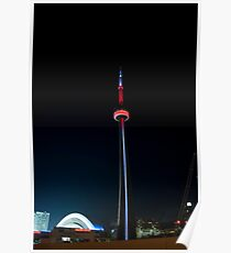One Second of the CN Tower Poster
