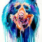 Spectacled bear  by Slaveika Aladjova