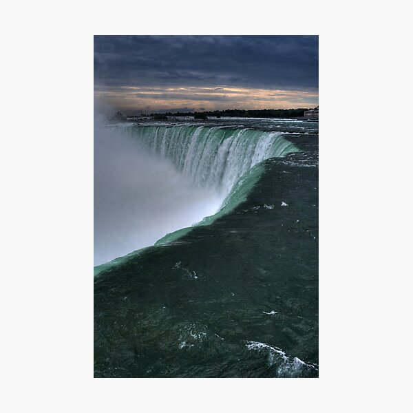 At the Edge... Photographic Print