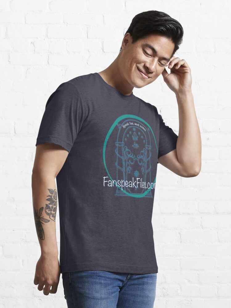 Alternate view of Speak, Fan, and Enter. Essential T-Shirt
