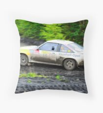 Opel Manta 400 Throw Pillow
