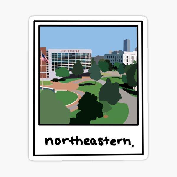 Northeastern Polaroid ! Sticker