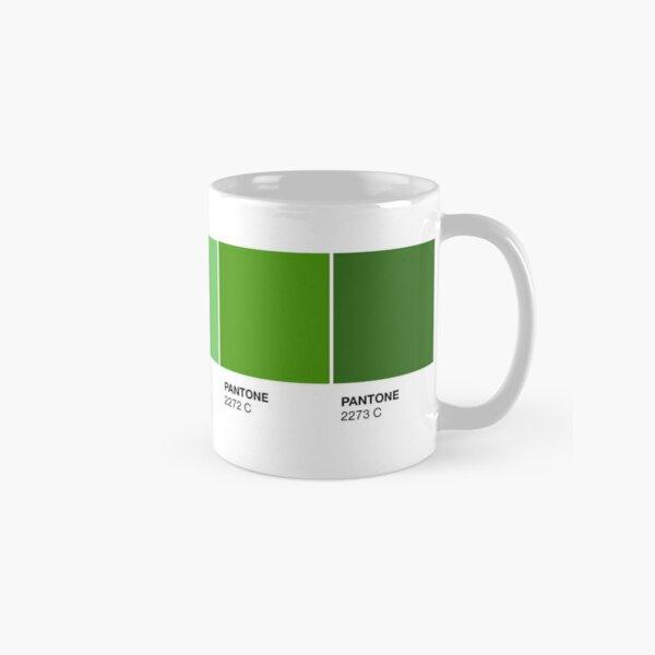 Green Pantone Colour Palette Classic Mug