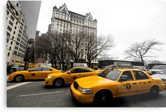 New York City Taxi by Or Many