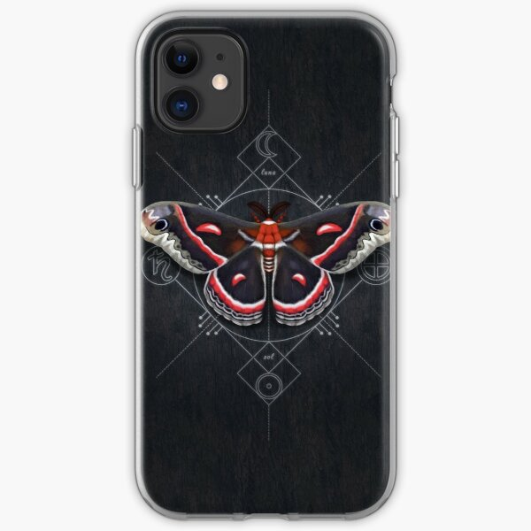 Cecropia Moth iPhone Soft Case