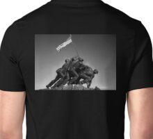 Iwo Jima 2 BW Unisex T-Shirt