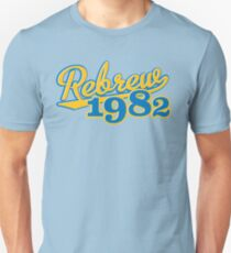 Rebrew 1982 blue T-Shirt