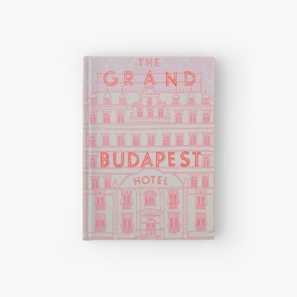 The Grand Budapest Hotel Book Cover Hardcover Journal