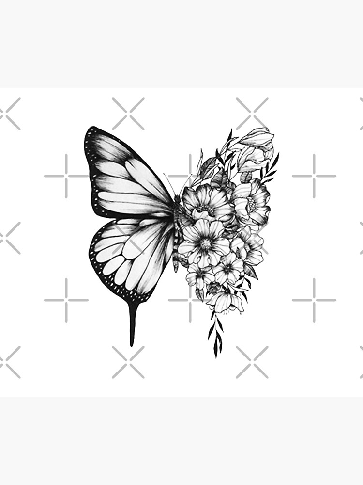 Shawn Mendes Butterfly Tattoo by cellal