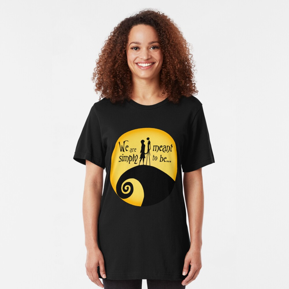 Jack und Sally Slim Fit T-Shirt