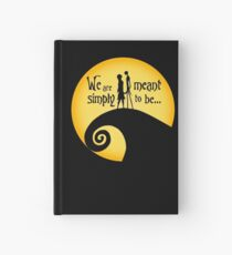 Jack and Sally Hardcover Journal