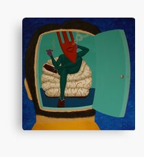 #59 (Untitled Until the Artist's Condition Improves) Canvas Print