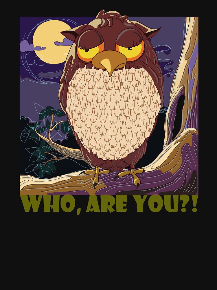 Who Are You, Owl by a-roderick