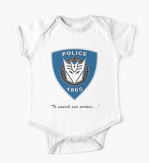Transformers - Police One Piece - Short Sleeve